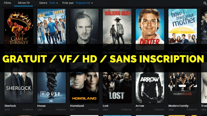 tuto comment regarder des films gratuitement en fran ais sur streaming 2018 la tutoth que. Black Bedroom Furniture Sets. Home Design Ideas