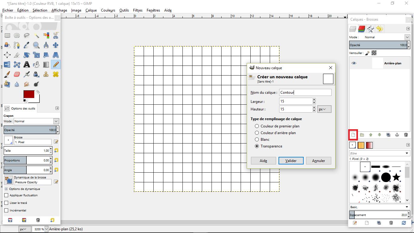 tuto comment faire du pixel la tutoth 232 que